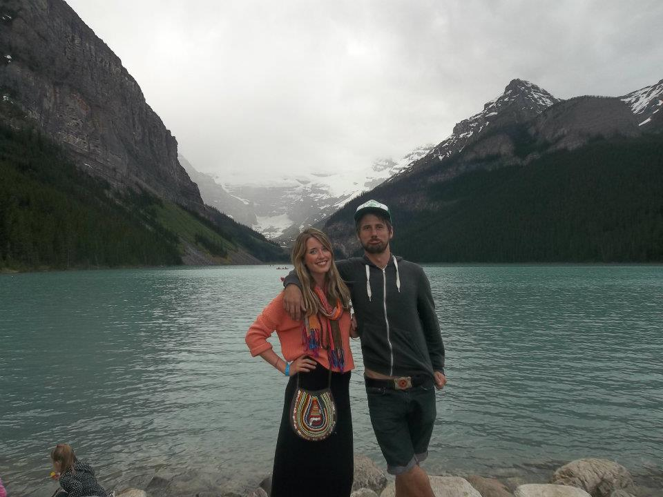 Couple at Lake Louise