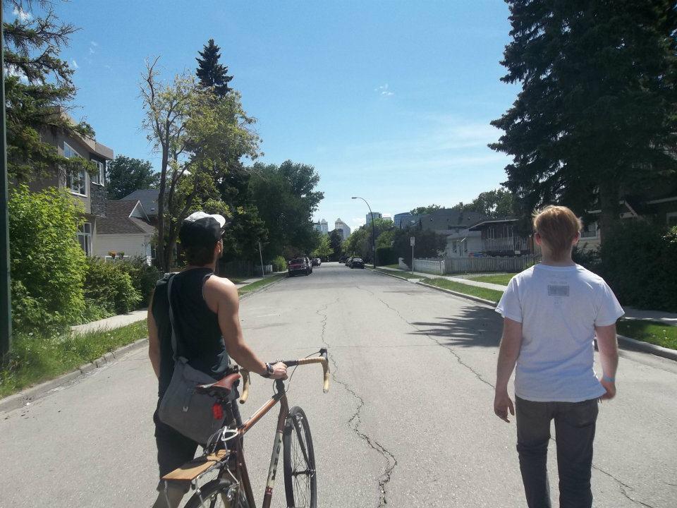 Cycling Calgary